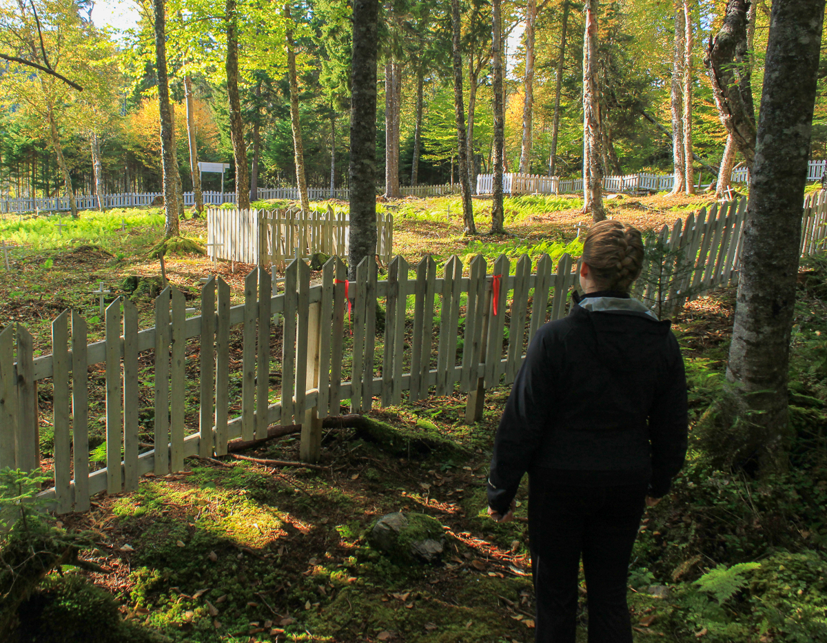 Big Salmon River Cemetery Trail pictures