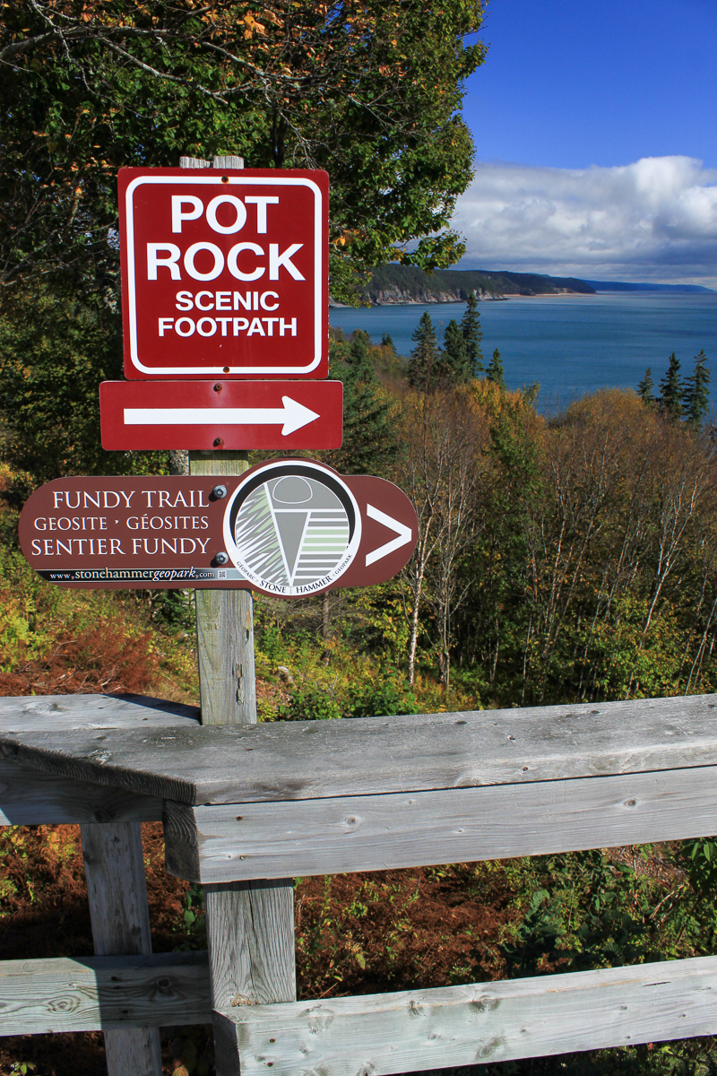 Pot Rock Scenic Footpath Start