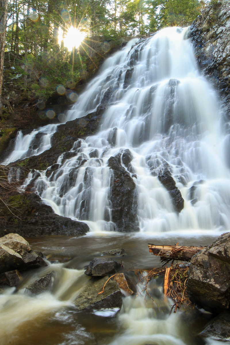 Hays Falls on the Maliseet Trail