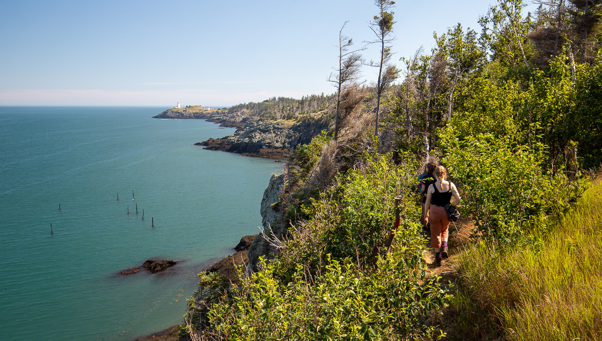 Lighthouse Trail - Swallowtail Lighthouse to Whale Cove Section Gallery