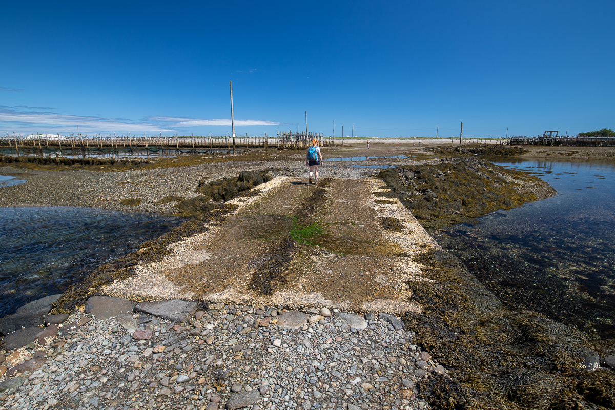 Cement Bridge to Ross Island