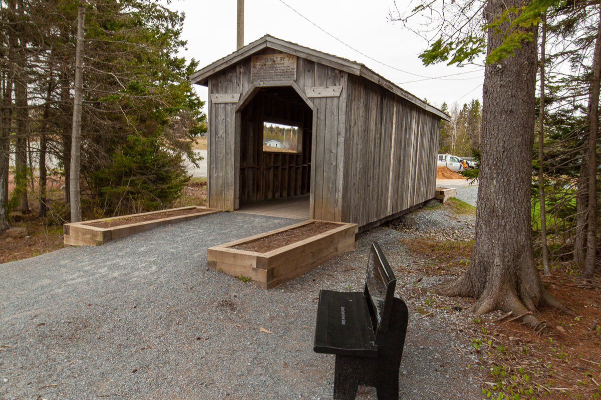 Covered Bridge on Matthew's Brook Trail