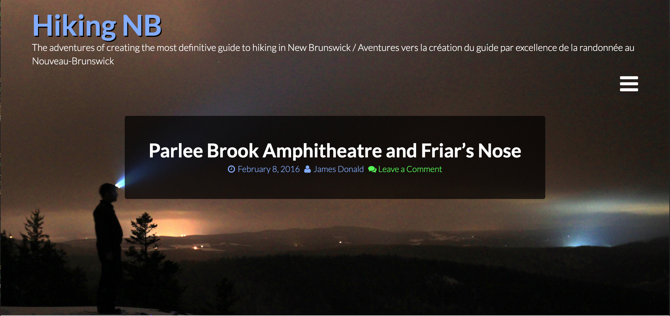 Friars Nose and Parlee Brook Amphitheatre Blog Post